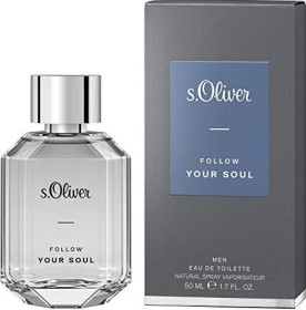 s.Oliver Follow Your Soul Men Eau de Toilette, 50ml