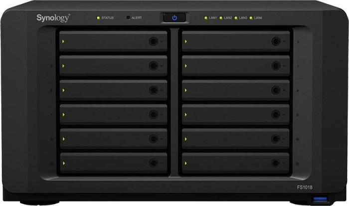 Synology FlashStation FS1018, 4x Gb LAN