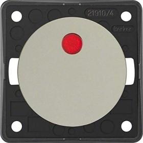 Berker Integro FLOW Kontroll-Ausschalter 2-polig 12V, chrom matt (937622568)
