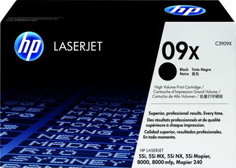HP Toner 09X black (C3909X)