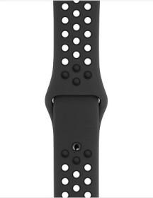 Apple Nike Sportarmband S/M und M/L für Apple Watch 40mm anthrazit/schwarz (MTMP2ZM/A)