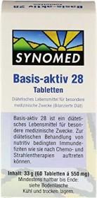 Synomed Basis-aktiv 28 Tabletten, 60 Stück