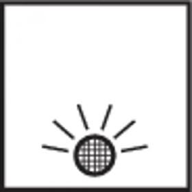 Berker Integro FLOW Kontroll-Ausschalter 2-polig 12V, edelstahl matt (937622524)