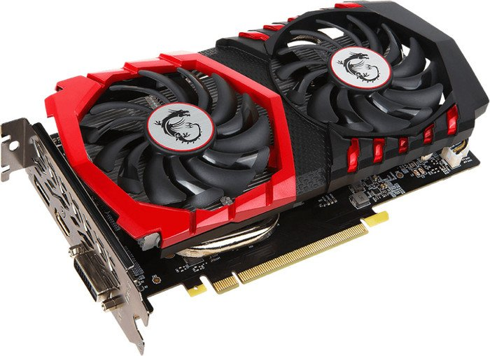MSI GeForce GTX 1050 Gaming X 2G, 2GB GDDR5, DVI, HDMI, DP (V335-007R)