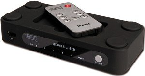 Digitus DC 42304 HDMI switch 5-port