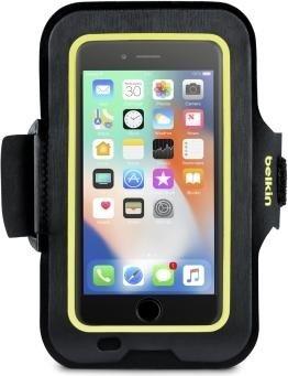 Belkin Sport-Fit Armband für Apple iPhone 7 Plus/8 Plus schwarz (F8W842btC00)