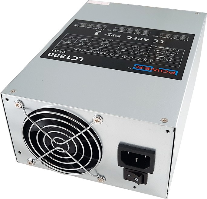 LC-Power LC1800 V2.31 Mining-Edition 1800W ATX 2.31