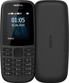 Nokia 105 (2019) Single-SIM schwarz