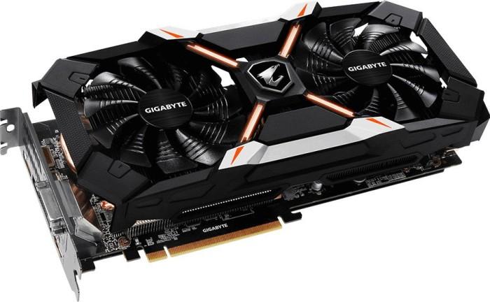Gigabyte Aorus GeForce GTX 1060 Xtreme Edition 6G [Rev. 2.0], 6GB GDDR5, DVI, HDMI, 2x HDMI-Side, 3x DP (GV-N1060AORUS X-6GD)