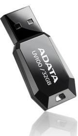 ADATA DashDrive UV100 schwarz 32GB, USB-A 2.0 (AUV100-32G-RBK)