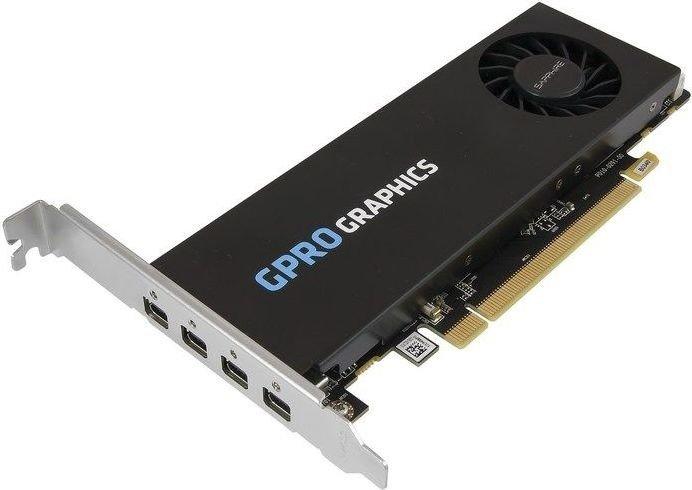 Sapphire GPRO 4300, 4GB GDDR5, 4x mDP (32286-01-21G)