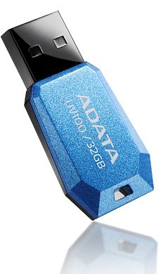 ADATA DashDrive UV100 blue 32GB, USB-A 2.0 (AUV100-32G-RBL)