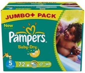 Pampers Baby-Dry Gr.5 Einwegwindel, 11-25kg, 72 Stück