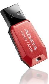 ADATA DashDrive UV100 rot 32GB, USB-A 2.0 (AUV100-32G-RRD)