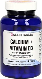 calcium + vitamin D3 GPH capsules, 120 pieces