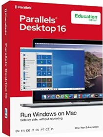 Parallels Parallels desktop 16, EDU, 1 year (multilingual) (MAC) (PD16-ABX1-1Y-EU)