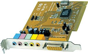 MS-Tech SoundONE 5.1 PCI Surround, PCI