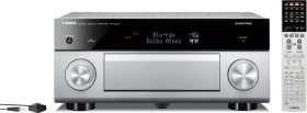 Yamaha RX-A 2050 (titan)<br>9.2 AVENTAGE AV-Receiver offers Dolby Atmos and audiophile Leistun with the both neusten ESS D/A Wandlern and High-resolution audio playback. Außerdem supports the Receiver 4K Ul..