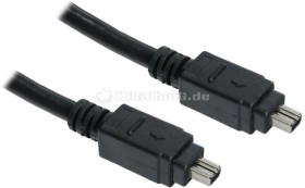 FireWire IEEE-1394 cable 4-Pin/4-Pin 3.0m