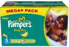 Pampers Baby-Dry Gr.5 Einwegwindel, 11-25kg, 90 Stück
