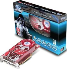 Sapphire Radeon HD 2900 XT, 512MB DDR3, 2x DVI, ViVo, PCIe, full retail (21108-00-50)