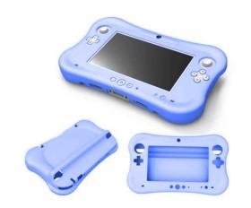 Speedlink GUARD Protection Skin for Gamepad blau (WiiU)