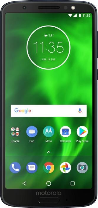 Motorola Moto G6 Single-SIM blau