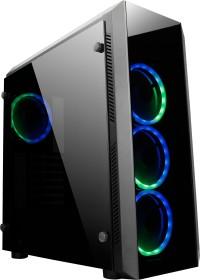 Chieftec Gamer GL-02B Scorpion 2 RGB black, glass window (GL-02B-OP)