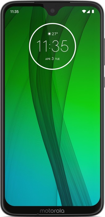 Motorola Moto G7 Dual-SIM weiß