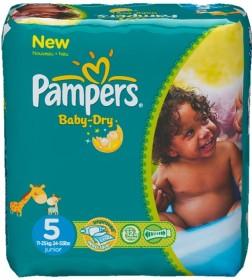 Pampers Baby-Dry Gr.5 Einwegwindel, 11-25kg, 144 Stück