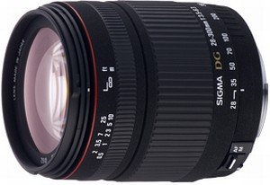 Sigma lens AF 28-300mm 3.5-6.3 DG Asp IF macro for Canon (795927)