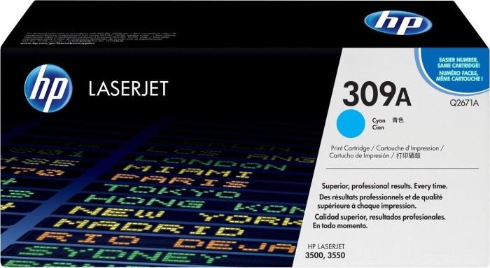 HP Toner 309A cyan (Q2671A)