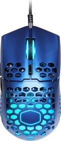 Cooler Master MasterMouse MM711 Blue Steel RGB Gaming Maus blau, USB (MM-711-MBOL1)