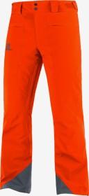 Salomon Brilliant Hose lang red orange (Herren) (C14382)