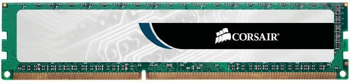 Corsair ValueSelect DIMM 2GB, DDR3-1333, CL9-9-9-24 (VS2GB1333D3)