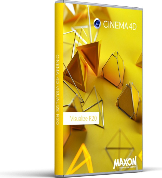 Maxon Cinema 4D R20.0, Visualize, update from R19.0 Prime, ESD (multilingual) (PC/MAC) (20314)
