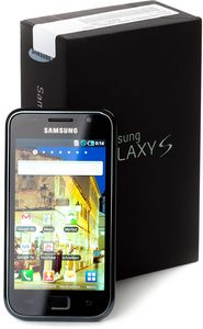 Samsung Galaxy S i9000 black 8GB