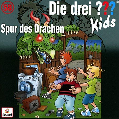 Die drei ??? Kids Folge 58 (Spur des Drachen) -- via Amazon Partnerprogramm