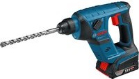 Bosch Professional GBH 18 V-LI Compact Akku-Bohrhammer inkl. 2 Akkus 2.0Ah + Zubehör (061190530C)