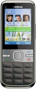 Nokia C5-00 schwarz
