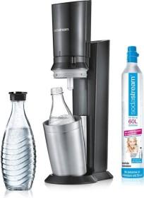 SodaStream Crystal 2.0 Trinkwassersprudler mit 2 Glaskaraffen schwarz (1216512491)