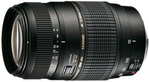 Tamron AF 70-300mm 4.0-5.6 Di LD Makro 1:2 für Canon EF schwarz (A17E)