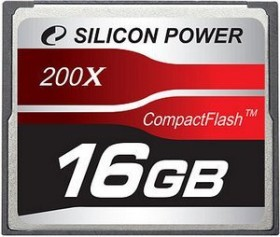 Silicon Power 200x CompactFlash Card 16GB (SP016GBCFC200V10)