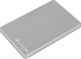 Verbatim Store 'n' Go ALU Slim silber 2TB, USB 3.0 Micro-B (53666)