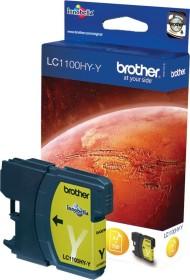 Brother Tinte LC1100HYY gelb hohe Kapazität