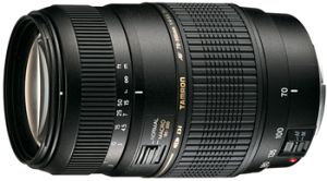 Tamron AF 70-300mm 4.0-5.6 Di LD Makro 1:2 für Pentax K schwarz (A17P)