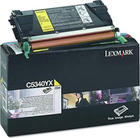 Lexmark Return Toner C5340YX gelb