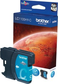 Brother ink LC1100HYC cyan high capacity