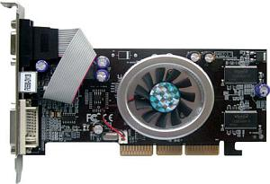 AOpen Aeolus FX5500-DV128, GeForceFX 5200, 128MB DDR, DVI, TV-out, AGP (91.05210.34V)