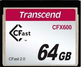 Transcend 600x R510/W80 CFast 2.0 CompactFlash Card 64GB (TS64GCFX600)
